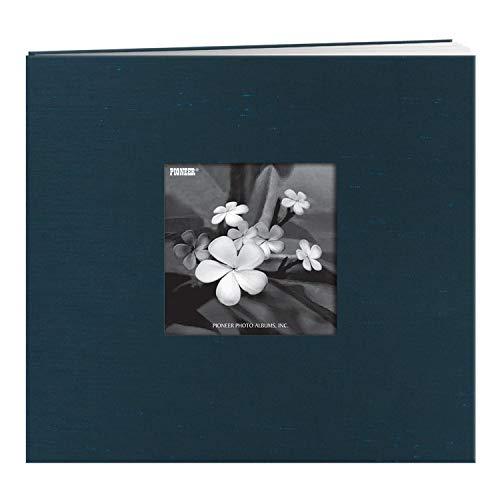 Frame Cover Memory Book - Pioneer Postbound Silk Fabric Frame Cover Memory Book, Lagoon Blue