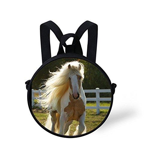 body Bag FunnyPrint Circle V6lc660i for Bag for Women Animals Round Women Print Cross x0rtpwqS0n
