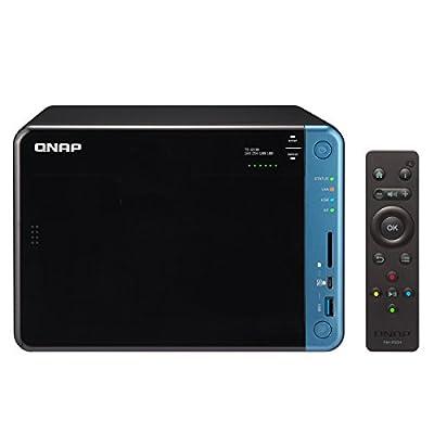 QNAP TS-653B-8G-US 6-Bay Professional-Grade iSCSI NAS. Intel Celeron Apollo Lake J3455 Quad-core CPU with Hardware Encryption and Exclusive USB Type-C Quick Access Port