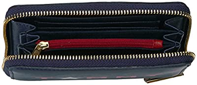 Tommy Hilfiger Wallet, Medium Zip Wallets for Women, Tommy Star Wallet