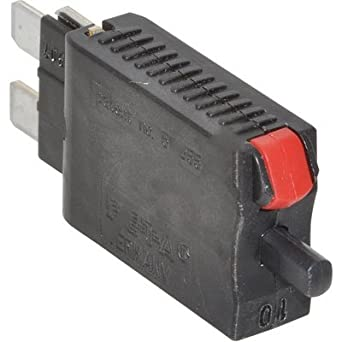Plug In Thermal Circuit Breaker 10 A 1 Pole 28 VDC