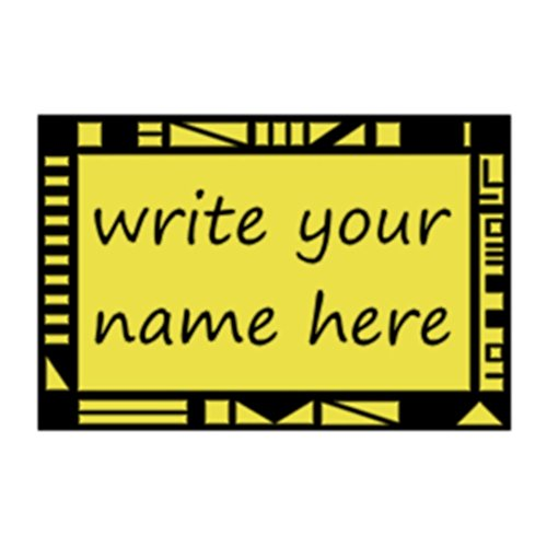 MyPartyShirt Legends of The Hidden Temple Name Tag