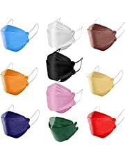 KF94 cubrebocas Colores Surtidos,kf94 cubrebocas Coreanos cubrebocas Adulto,cubrebocas 4 Capas Adulto,kf94 cubrebocas para Hombre Mujer (Colores Mezclados, 100 Piezas)