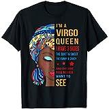 I'm Virgo Queen T-shirt, Virgo Woman T shirt