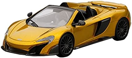1:24 Welly McLaren 675lt 2017 Orange
