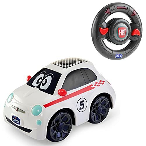 Chicco - 00007275000000 - RC Fiat 500 - Coche controlado por radio