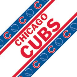 MLB Chicago Cubs Wall Border ()