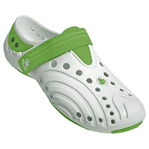 DAWGS Premium Women's Spirits, White/Lime Green, 7 M US from DAWGS