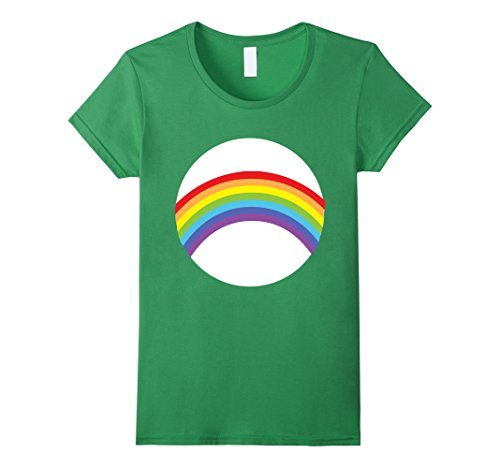 Womens Care For Bears Rainbow Halloween Group Costume TShirts XL (Group Halloween Costumes College)