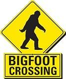 Aquarius Bigfoot Crossing Funky Chunky Magnet