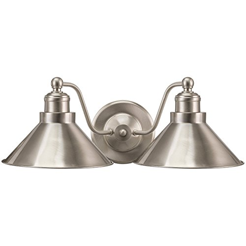 Bathroom Light Fixtures Nickel Brushed (Revel/Kira Home Welton 19