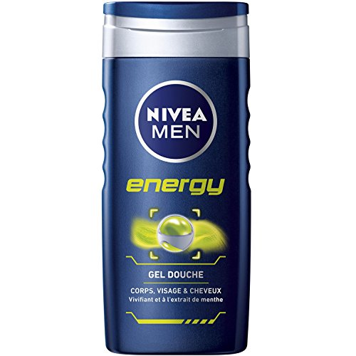 Nivea Men Gel Douche 3en1 Energy 250 ml - Lot de 6