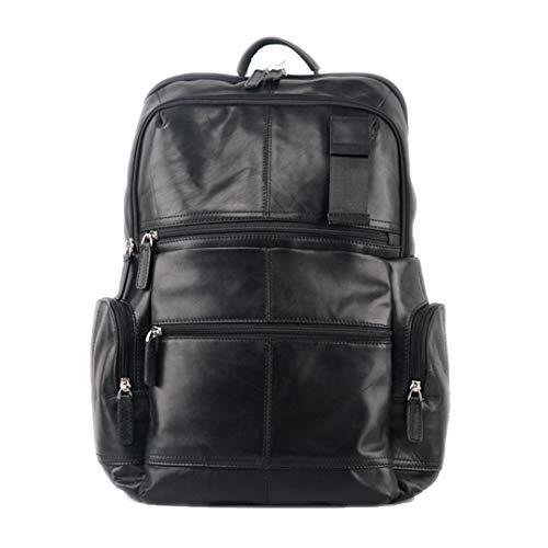 - Men's Shoulder Bag Leisure Travel Large Capacity First Layer Oil Wax Leather Shoulder Bag