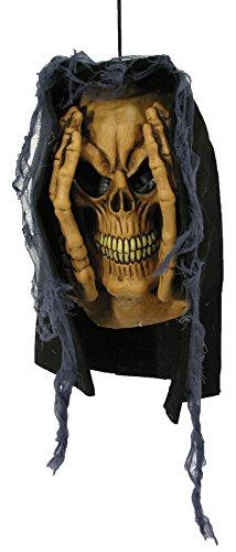 Creepy Peeping Tom Skeleton Hanging Window Party Decoration Halloween -