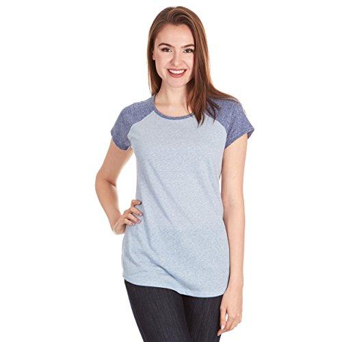 Heavyweight Baseball Adult Tee - X America Baseball Tee Shirts Women, Junior & Plus Size T Shirts for Women