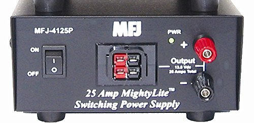 Price comparison product image MFJ-4125P Switching pwr Supply 13.8V 25A Pwrpoles