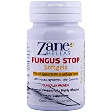 Fungus Stop SOFTGELS. COMPLEMENTARY SOLUTION with Fungus Stop Nail Solution for Faster Results.