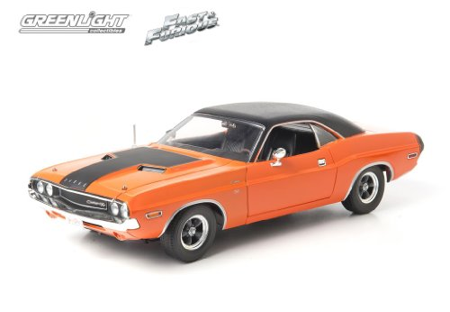 2Fast 2 Furious 1970 Dodge Challenger 1:18 Scale (Orange) (Challenger Dodge 1 18 compare prices)