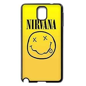 wugdiy Brand New Phone Case for Samsung Galaxy Note 3 N9000 with diy Nirvana