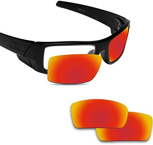 Fiskr Anti-saltwater Replacement Lenses for Oakley Gascan Sunglasses - Various Colors