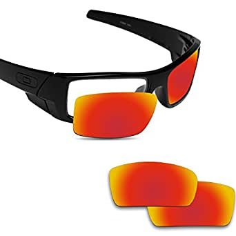 a43621ec4b Amazon.com  Fiskr Replacement Lenses for Oakley Gascan Polarized Red ...