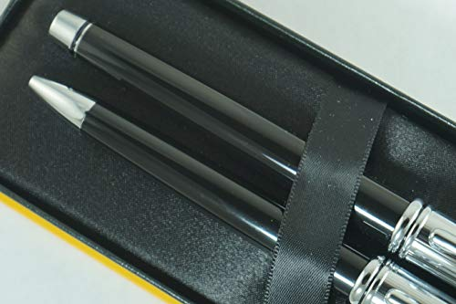 Cross Townsend Limited Edition Series Black Lacquer Tuxedo Selectip Gel Ink Rollerball Pen and Ballpoint Pen Set Rare Combo of Cross Pen Sets by A.T. Cross (Image #6)