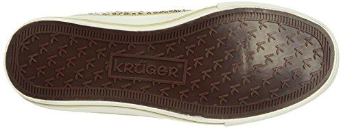 Krüger Madl Sneaker Miracle - Zapatillas altas Mujer Dorado - Gold (gold 12)