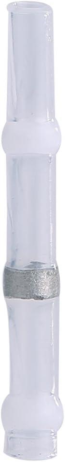 100 St/ücke 26-24AWG Wasserdichte W/ärmeschrumpf-L/ötmuffen-Dichtung Drahtverbinder Sto/ßklemmenverbinder W/ärmeschrumpfverbinder