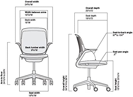 Steelcase Cobi Office Chair: Arm