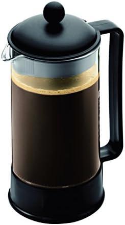 Bodum 1548-01US Brazil French Press Coffee and Tea Maker, 34 Ounce, Black
