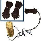 1-2-3 Hängemattenbefestigung Baumbefestigung Deckenbefestigung
