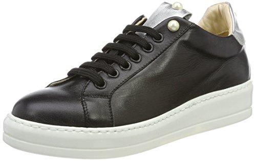 Oxitaly Tepe 128, Sneaker Donna Nero (Black Black)