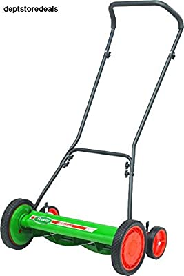 Scotts 2000-20 20-Inch Classic Push Reel Lawn Mower Tracking Grass Steel Wheels ;TM79F-32M UGBA124306