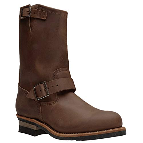 Red Wing Mens Engineer Leather Copper Boots 10 US