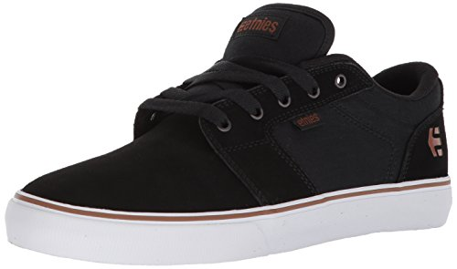 Etnies Men's Barge LS Skate Shoe, Black/Bronze, 11 Medium US
