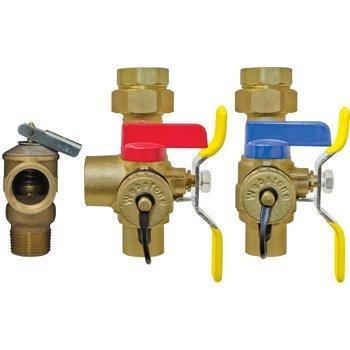 Webstone 54443WPR-LF 3/4 SWT ISO EXP W/LF PRV Isolator E2 Lead Free Tankless Water Heater Service Valve Kit, 3/4-Inch Sweat