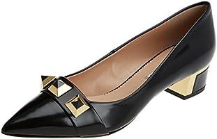 HANNIBAL LAGUNA Ebony, Zapatos de Tacón con Punta Cerrada para Mujer, Negro (FLORANTIC NEGRO /                     NEGRO), 41 EU