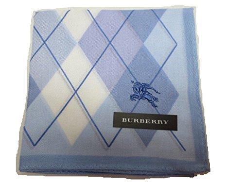 Burberry Men's Handkerchief Argyle Horse of Embroidery Light - Handkerchief Burberry