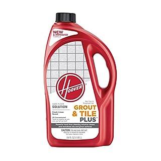 Hoover Grout and Tile Plus Hard Floor Cleaner Solution Formula, 64 oz, AH30430NF,green