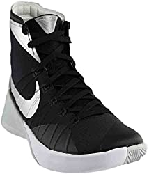 Nike Mens Hyperdunk 2015 Team Basketball Shoe (10.5 D(m) Us, Blackanthracitewhitemetallic Silver)