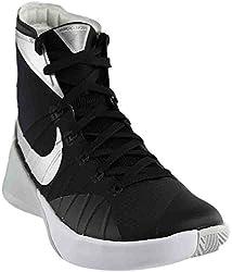 Nike Mens Hyperdunk 2015 Team Basketball Shoe (10.5 D(m) Us, Blackanthracitewhitemetallic Silver)
