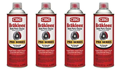 CRC  05089PS Brake Cleaner 29 Ounce Aerosol Can (4)