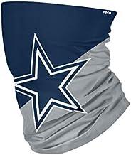 NFL FOCO Dallas Cowboys Neck Gaiter, One Size, Big Logo