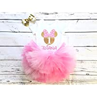 Minnie mouse birthday outfit, Minnie mouse first birthday outfit, Minnie birthday shirt, baby girl birthday outfit, minnie baby bodysuit