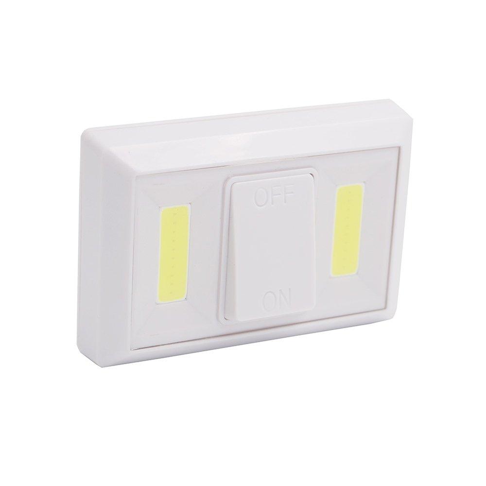 LixadaダブルデュアルCOBスイッチNight Lights forコリドー廊下磁気ストリップ緊急修理ランプ屋内照明壁ワイヤレスコードレスキャビネットクローゼットホーム使用ワードローブ B073WD9MTW