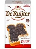 Hagelslag PUUR - Pure Dark Real Chocolate Sprinkles - jimmies - On Buttered bread, Cupcake sprinkles, Great Cake Topping & a Yummy addition to any Deseret
