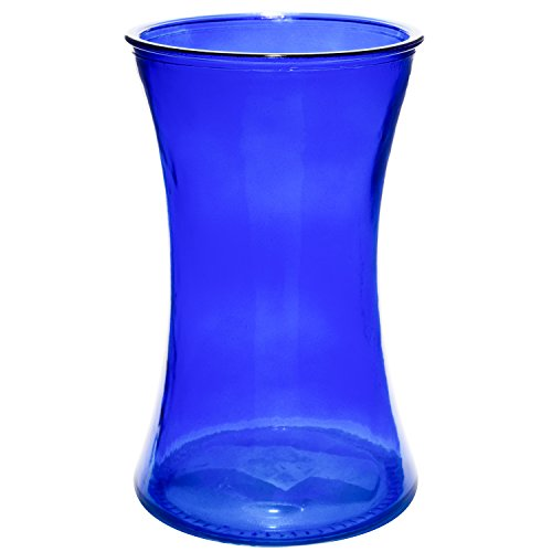 ass Gathering Vase Decorative Centerpiece for Home or Wedding (Fits Dozen Roses) - Round - 8