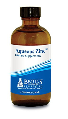 (Biotics Research Aqueous Zinc™ Supports Immune Health, Reproductive Health, Growth and Physical Development, Digestion and)