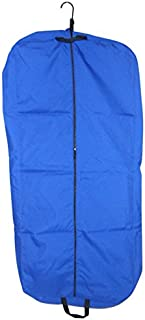 "product image for Garment bag, ladies dress length 46"" Garment bag,carry-on size bag Made in U.s.a. (Royal blue)"