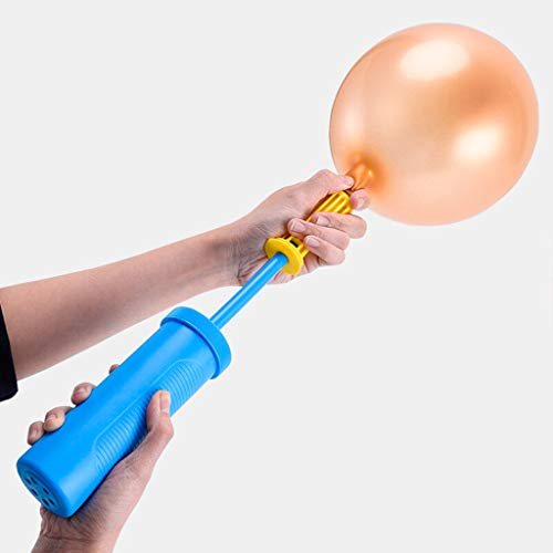 ❤️ Features :  ❤️ 100% brand new and high quality.  ❤️ Made of high quality material, more durable.  ❤️ Attractive design, Great party accessory  ❤️ A great party planning solution for those special events.  ❤️ Fit for most of balls, perfect for pool floats, Aluminum balloon  ❤️ Specification:  ❤️ Type: Balloon Pump  ❤️ Material: Plastic  ❤️ Color: As the picture  ❤️ Full length: 40cm  ❤️ Package Included:  ❤️ 1 x Balloon Pump  ❤️ Note:  ❤️ 1. Due to the light and screen difference, the item's color may be slightly different from the pictures.  ❤️ 2. Please allow 1-3cm differences due to manual measurement.